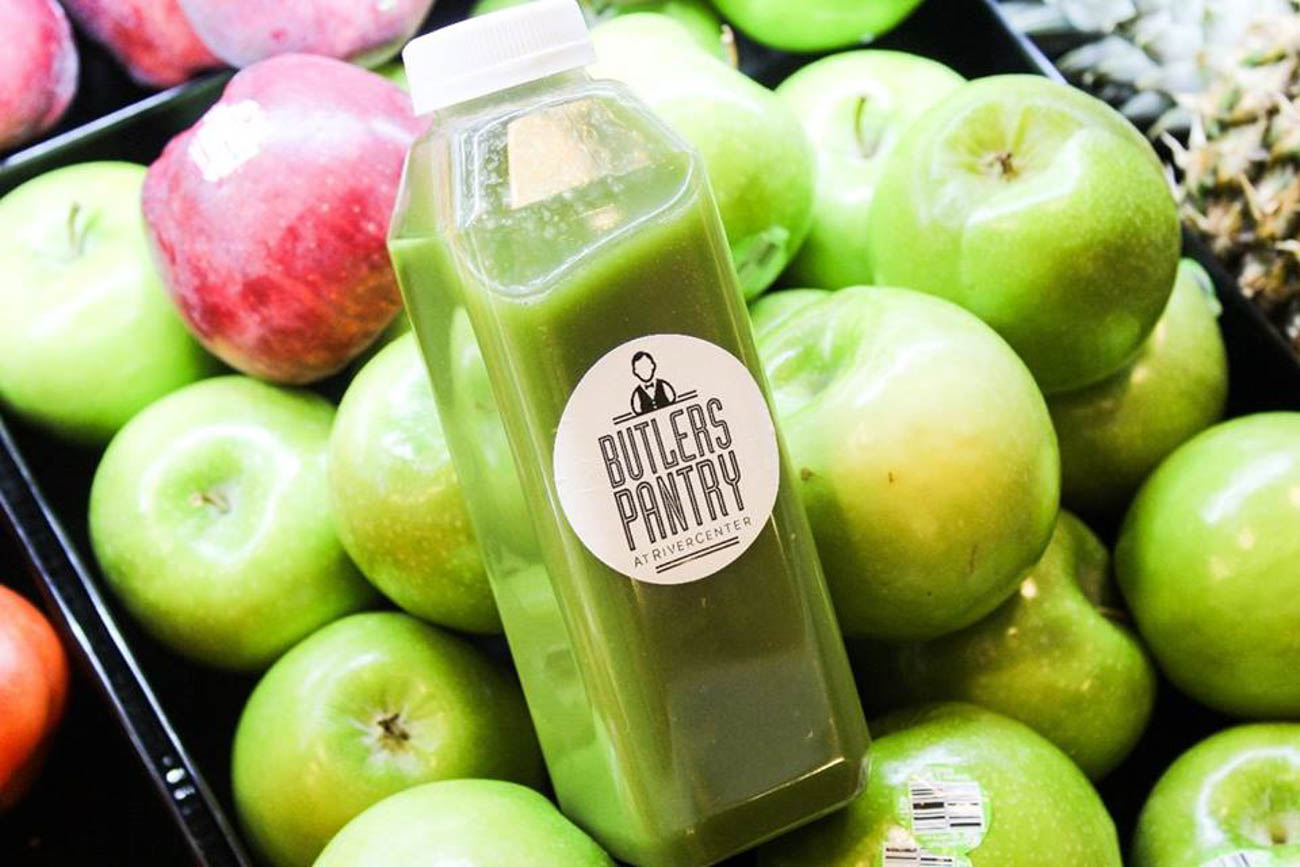 Fresh juice from Butler's Pantry{ }/ Image courtesy of RiverCenter Entertainment // Published: 6.20.19