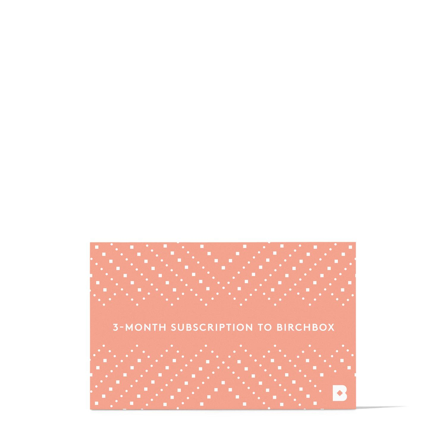 Women's 3-Month Subscription Gift Card to Birchbox // Price: $30 // (Image: Birchbox)<p></p>