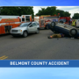 One taken to hospital in three vehicle accident in Belmont County