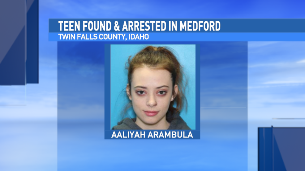 Missing Idaho teen arrested in Medford | KTVL
