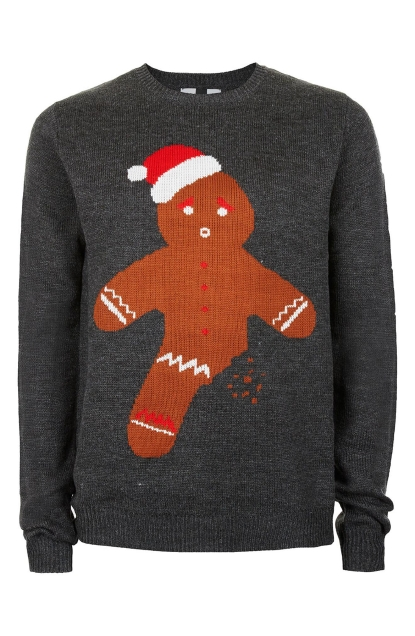 topman gingerbread man sweater 55 photo nordstrom - Nordstrom Christmas Sweaters