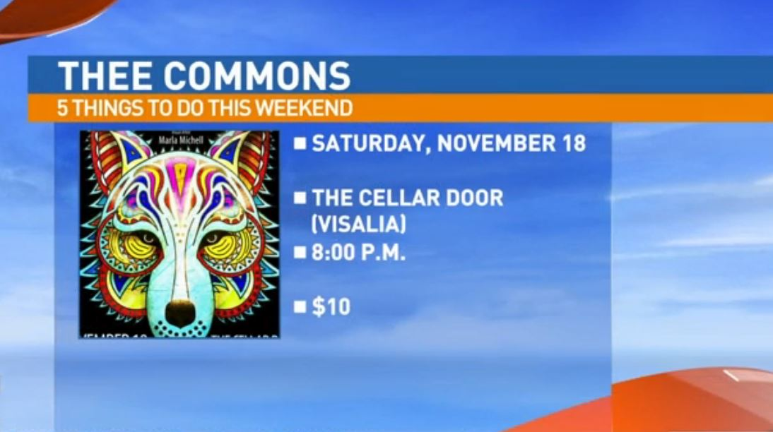 Thee Commons Saturday at The Cellar Door, Visalia