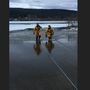 Northern Idaho firefighters save trapped dog that fell in frozen lake
