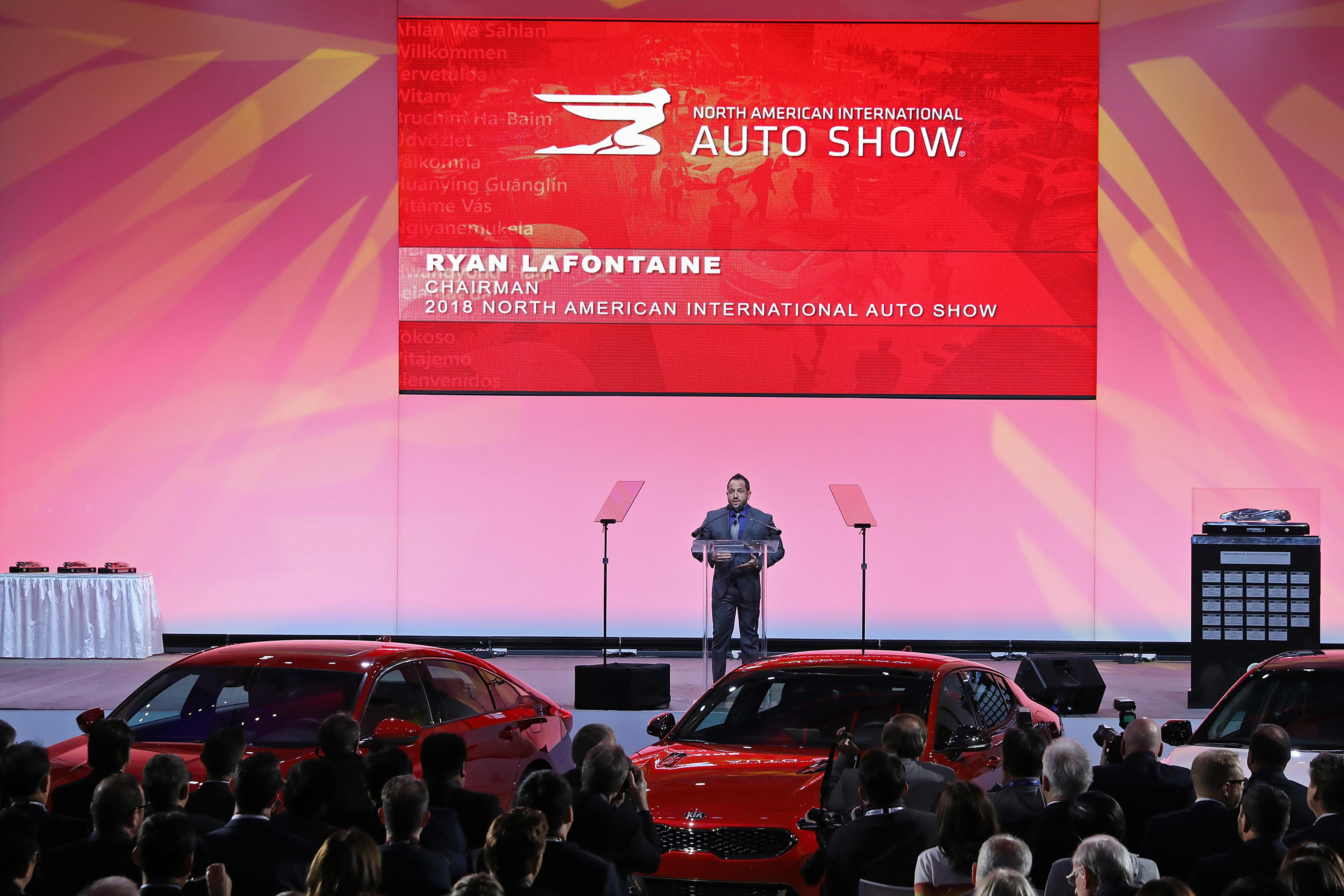 """It's just huge we have a million square feet all under one roof plenty of space to display cars,"" said NAIAS 2018 Chairman Ryan Lafontaine. (Photo: NAIAS)"