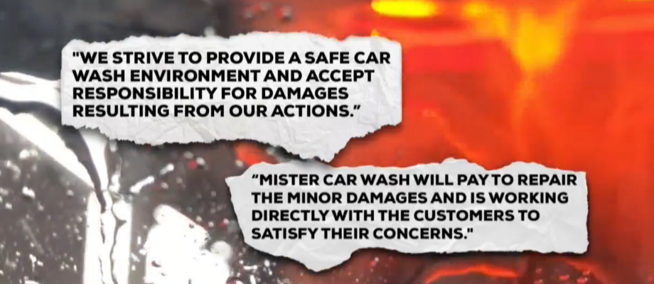 Salt Lake City police records show officers have been called out to that Mister Car Wash location 32 times in the past two years — though the records don't show if the wrecks happened inside the wash. (Photo: KUTV)