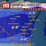 Winter storm warning issued ahead of Winter Storm Dan