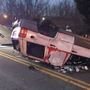 Police: 1 person transported following crash in Campbell Co.