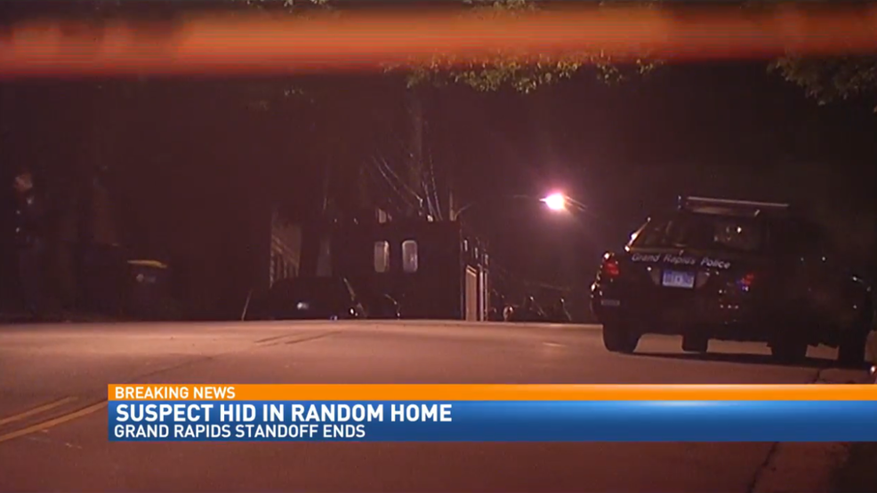 Standoff situation ends peacefully in Grand Rapids, suspect in