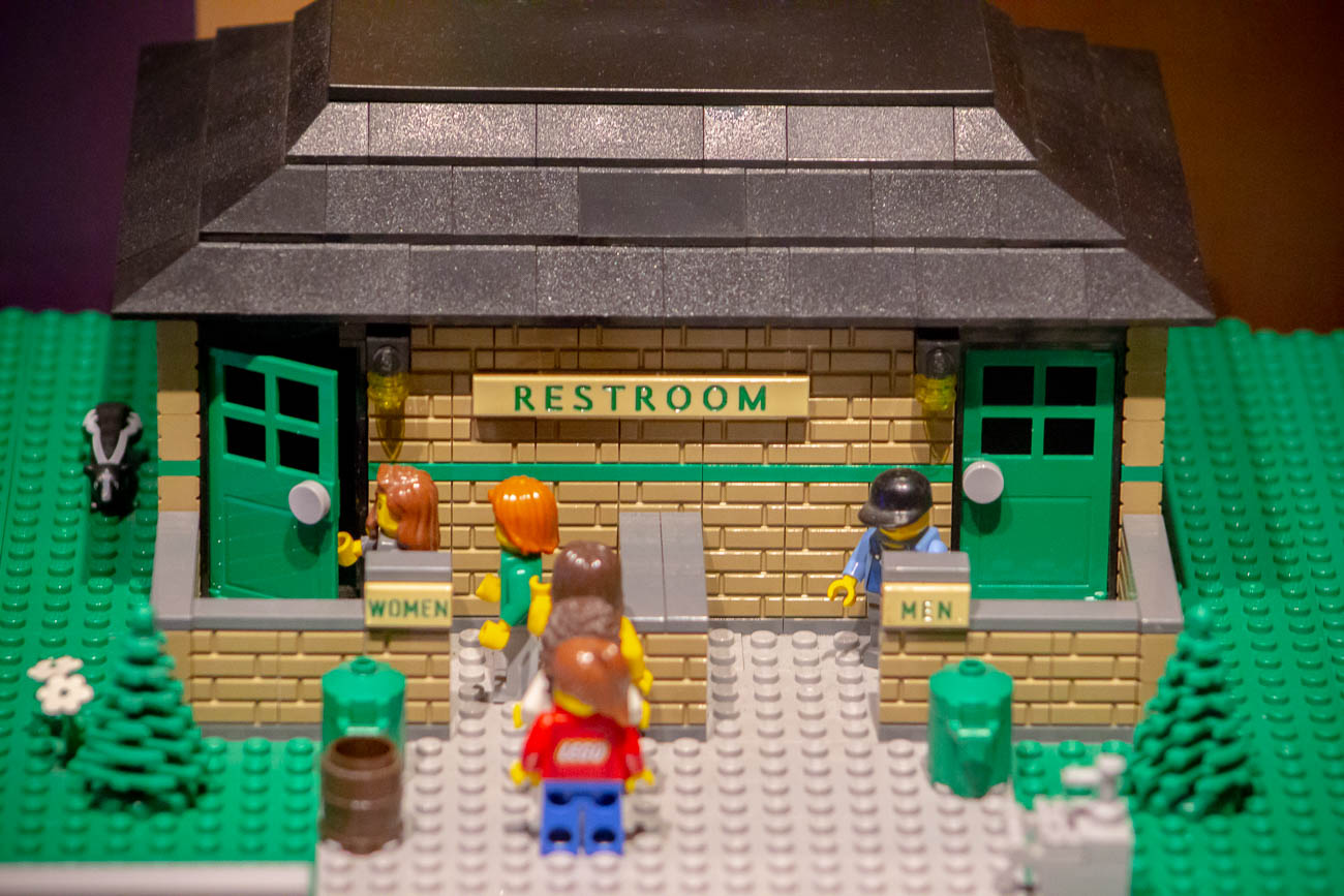 The most realistic part of the LEGO display… / Image: Katie Robinson, Cincinnati Refined // Published: 11.8.19<p></p>