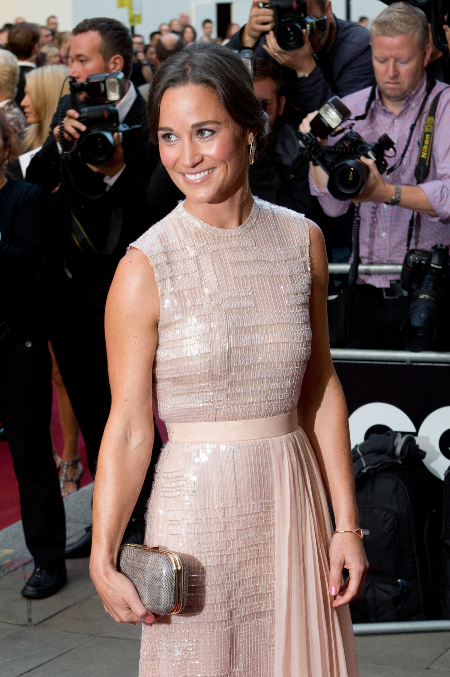 Pippa Middleton at The GQ Men of the Year Awards at the Royal Opera House in London (WENN.com)