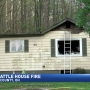 Fire breaks out at Bergholz home