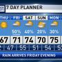 The Weather Authority | Warming Trend Begins Tomorrow Afternoon