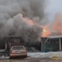 Crews battle building fire in Fond Du Lac