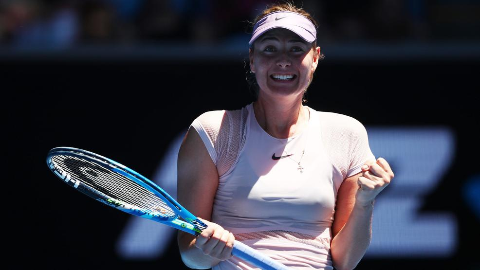 Maria Sharapova (photo credit: Getty Images)