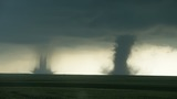 Watch: Seattle-area storm chaser gets dramatic twin tornado video in Colorado