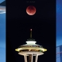 1 year later, photographer reflects on epic 'Super Blood Moon' Space Needle eclipse shot