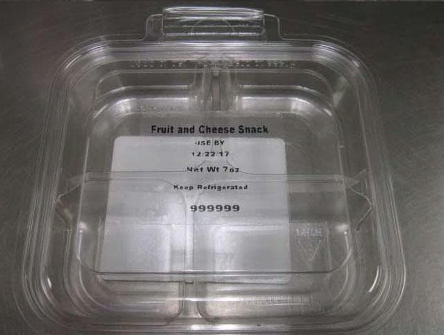 The fruit and cheese plate was recalled by Fresh Pak.<p></p>