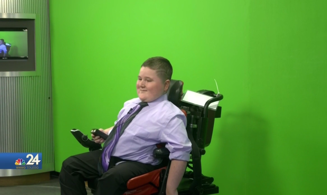 Weather Kid, Noah Kistler (WNWO)