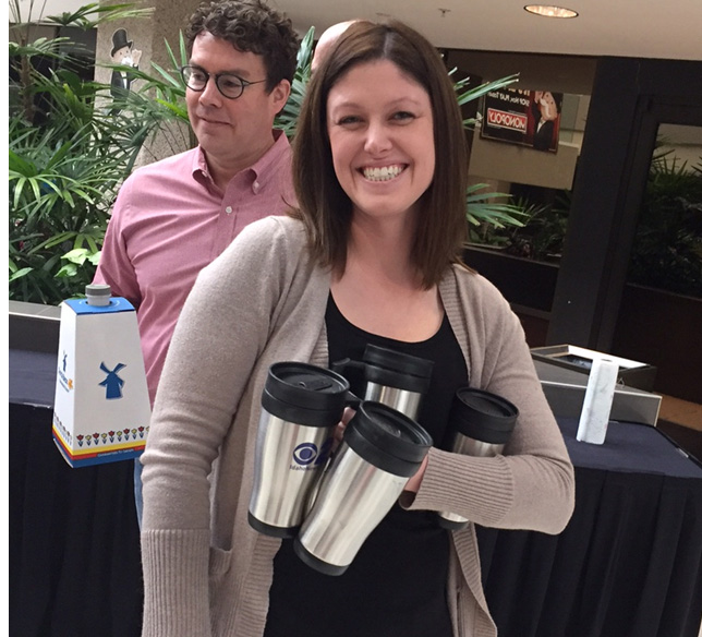 Mugshot Mondays: This week's winner is Albertsons Pharmacy in Boise! Kelsey Anderson & Bryan Levin helped deliver free Dutch Bros. Coffee and KBOI mugs! Want your business to be next? Enter HERE: http://bit.ly/1UoKo3X