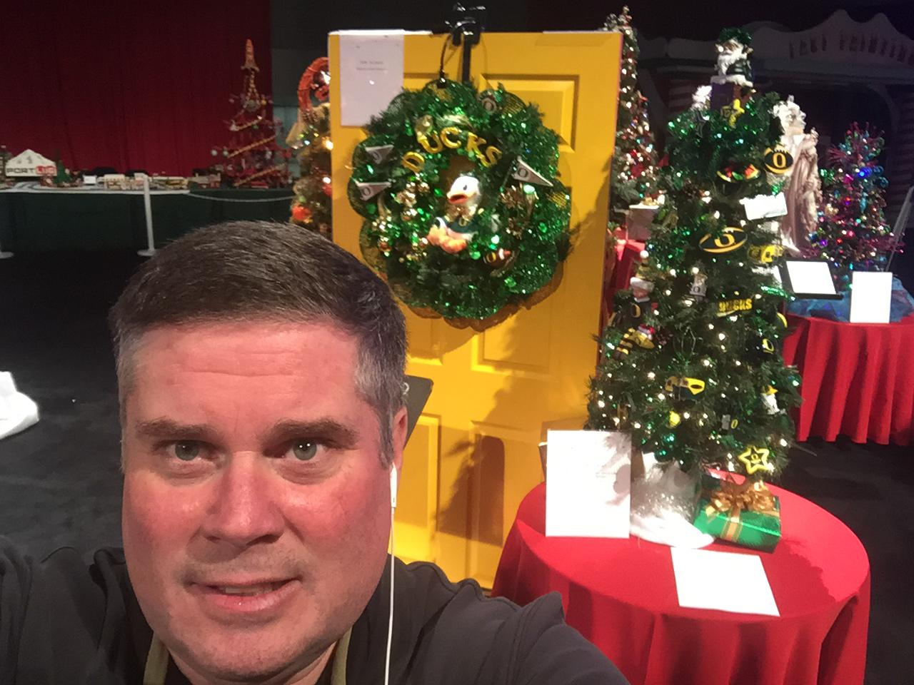 Photo Selfie: Sean Broderick/KATU News/Nov. 30, 2017