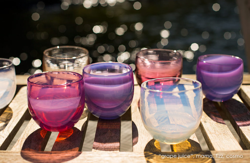 "<p>glassybaby Drinker - $55. Here's another local gift that gives back. This 'mama drinker' glassybaby is perfect for the mom in your life. 10 percent from the sale of each drinker will be donated to the white light fund in further support of the Puget Sound Health Care system. Each drinker is handblown in Seattle or Berkeley, holds about 8 oz. of liquid, and stands almost 3.25"" tall. Purchase at glassybaby. (Image: glassy Baby)<br></p><p></p>"