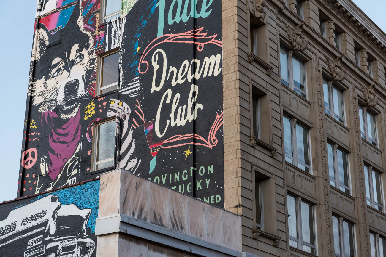 MURAL: FAILE Mural / ARTIST: FAILE / LOCATION: 10 W. 6th Street (41011) / Image: Mike Menke // Published: 3.22.18