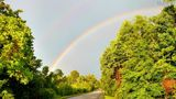Viewer submitted photos of yesterday's storm and double rainbow