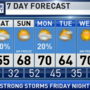 The Weather Authority | Strong Storms Possible Tomorrow Night