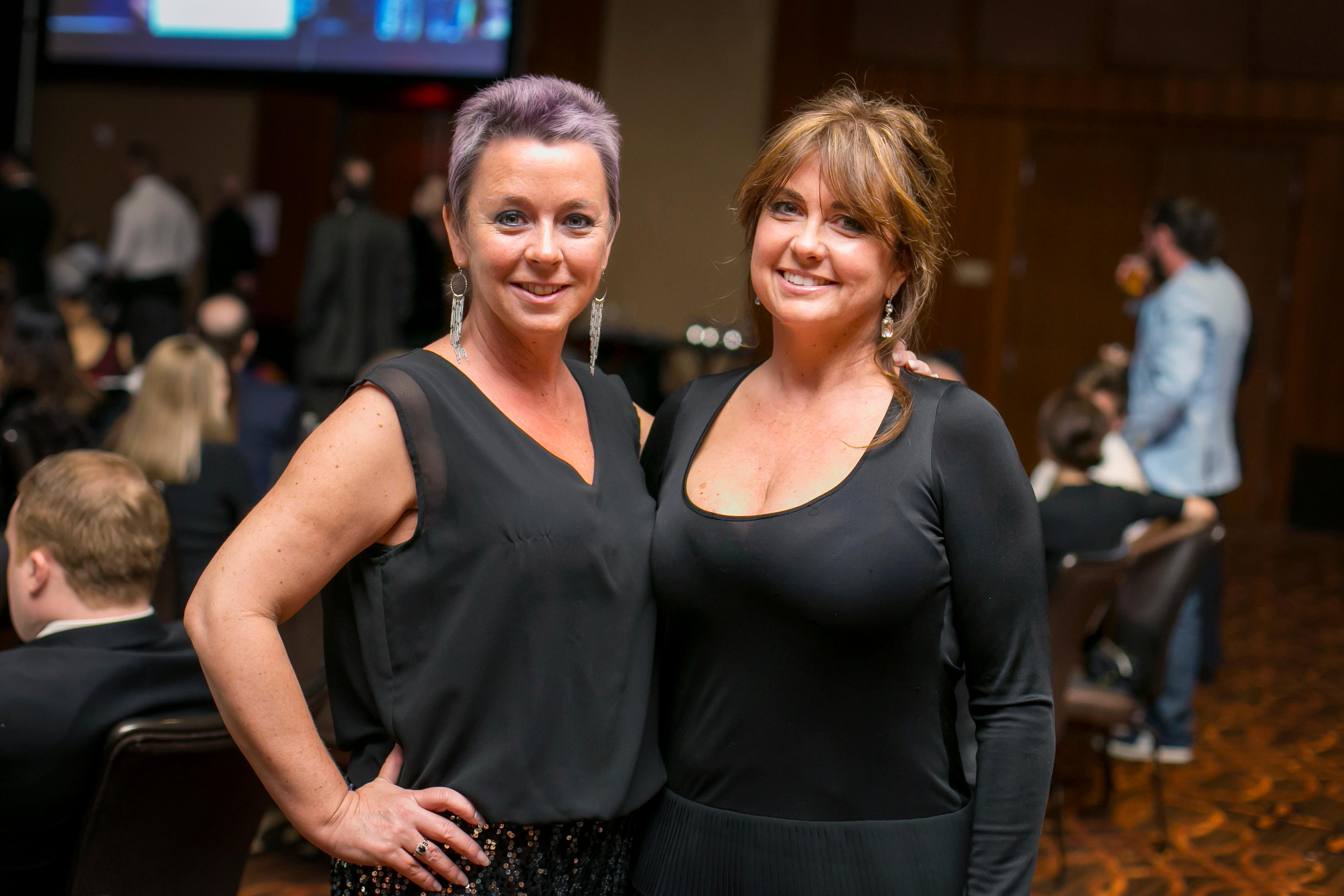 Cindy Clement and Christy Clement / Image: Mike Bresnen Photography