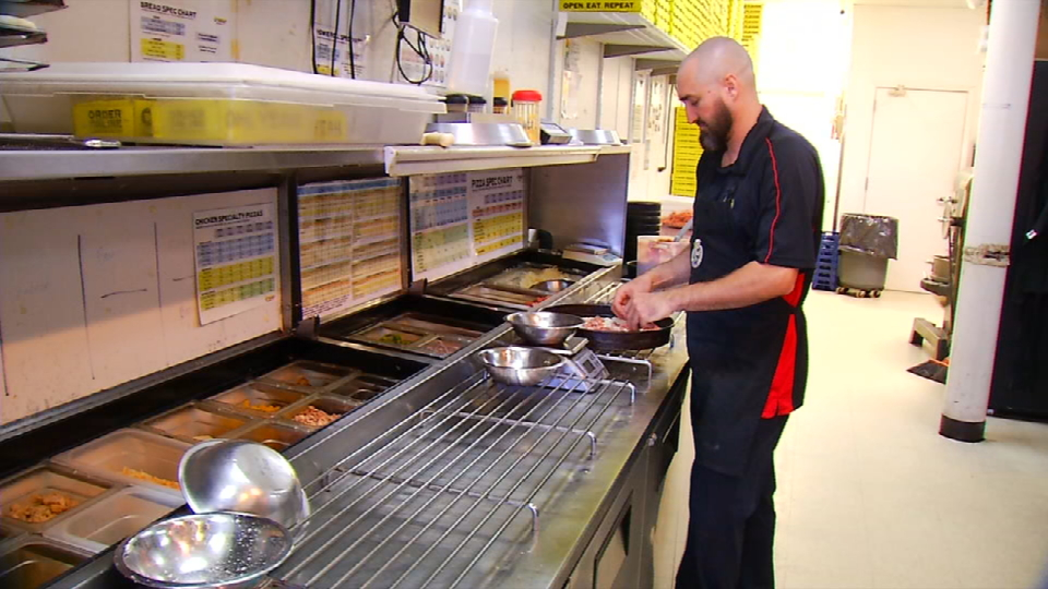 Kitchen Cops: Hungry Howie\'s Captures Blue Plate for Perfect Health ...