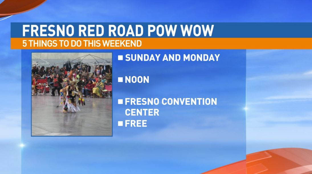 Fresno Red Road Pow Wow Sunday & Monday at the Fresno Convention Center