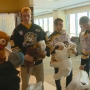 Green Bay Gamblers deliver teddy bears to pediatric patients