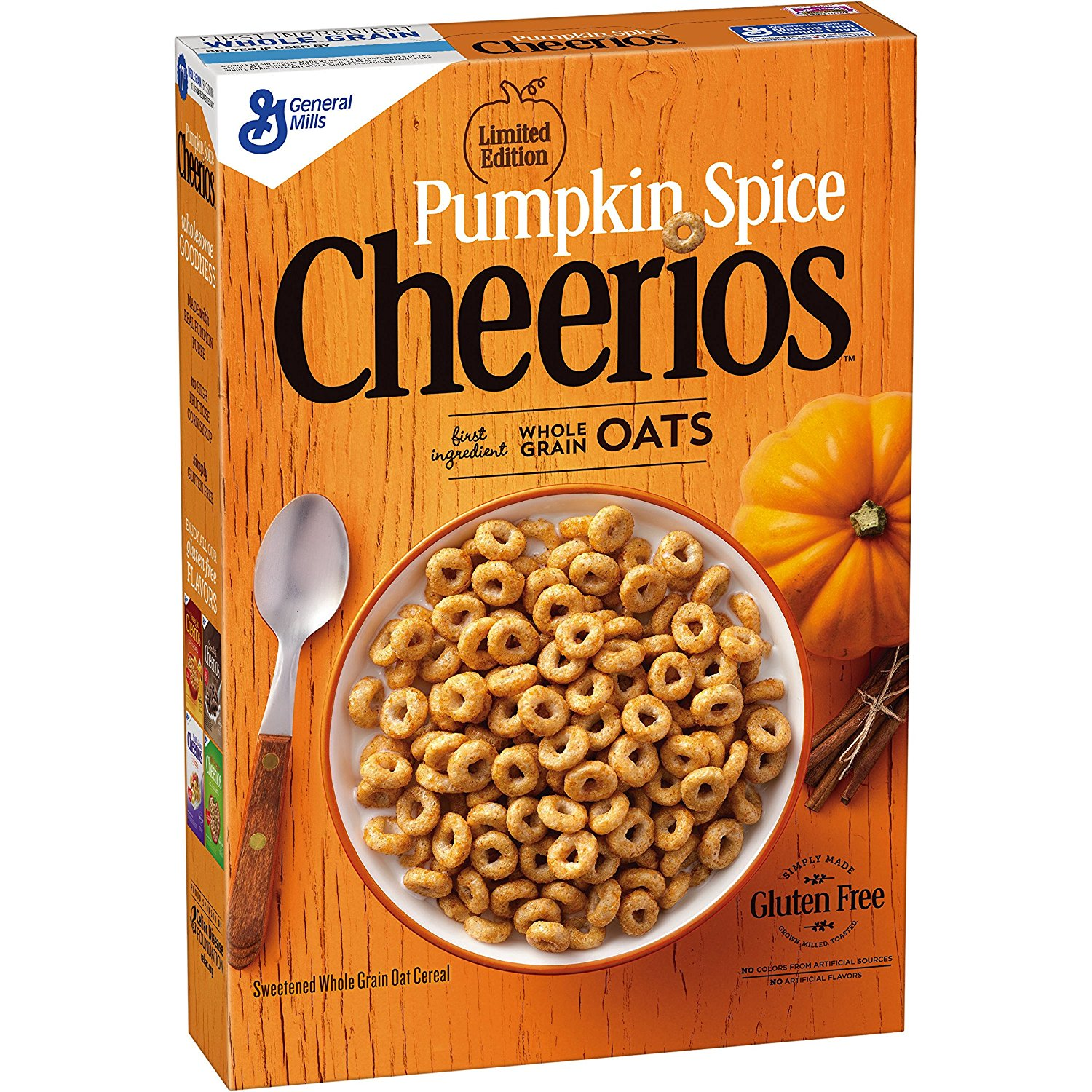 Pumpkin Spice Cheerios, $3 (Image courtesy of General Mills)