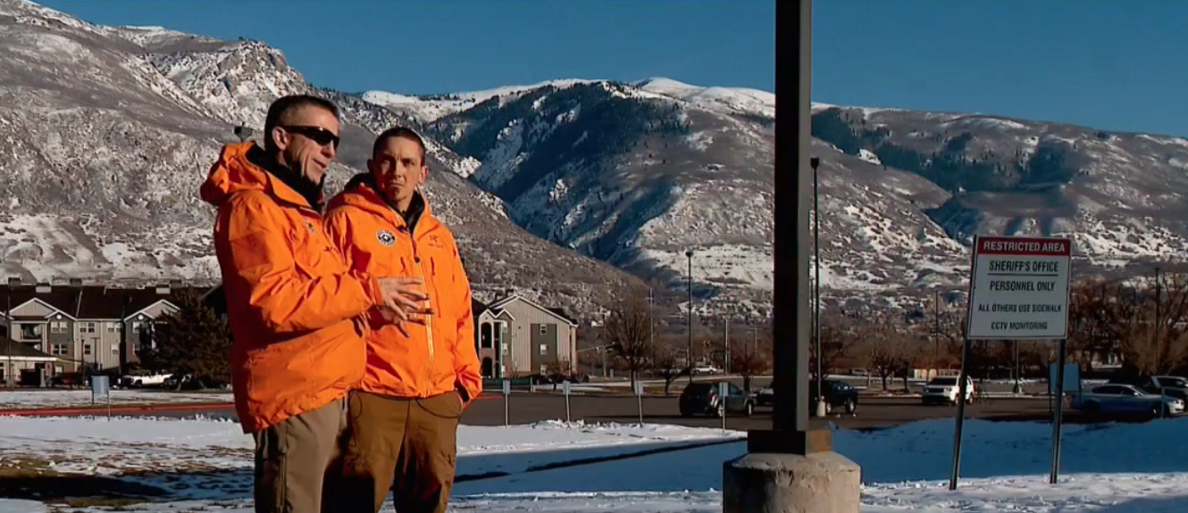 Rescuers warn of avalanche dangers even with avalanche safety gear. (Visual: KUTV)