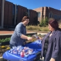 Mercer student spreads the love on Random Acts of Kindness Day