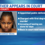Coles County mother charged with murder appears in court