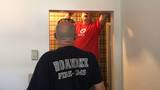 Roanoke Fire and the Red Cross go door to door installing smoke alarms