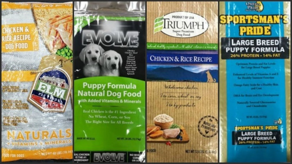 9 Brands Of Dry Dog Food Recalled Wsbt
