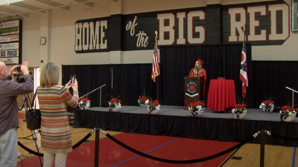 Steubenville High School seniors celebrate graduation unlike any other