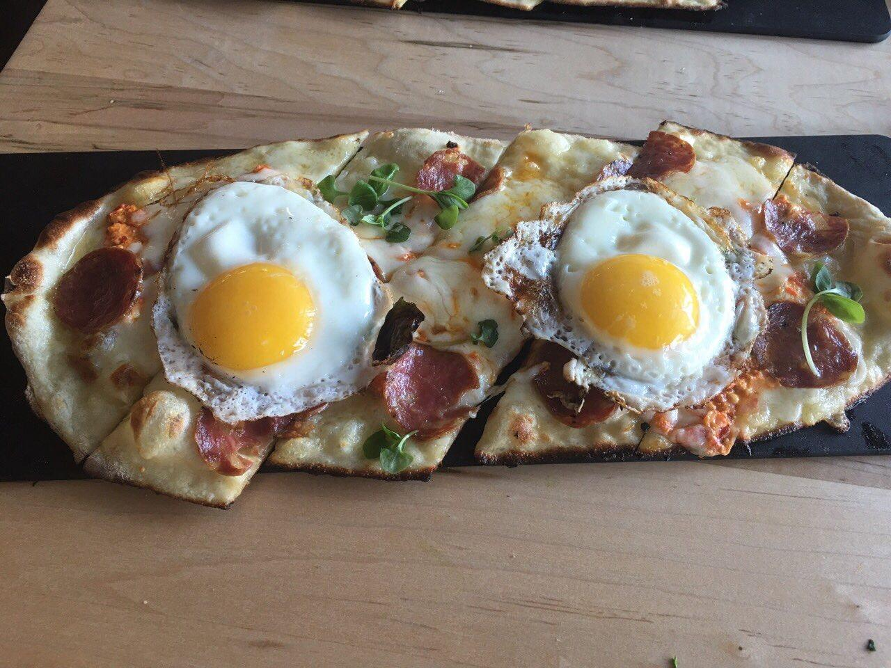 Sausage Flatbread at Ambar (Ambar)<p></p>