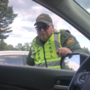 Border patrol agents question drivers at I-95 checkpoint about citizenship