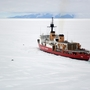 Seattle-based Coast Guard vessel cuts 60-mile path through Antarctic ice