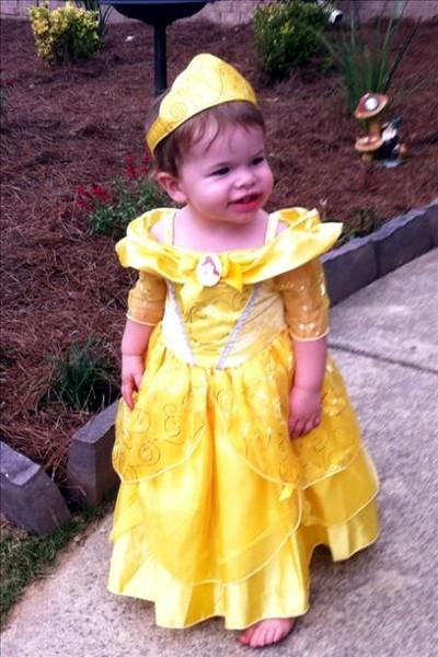 19-month-old princess Abigail!