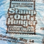 Saturday is National Stamp Out Hunger Day