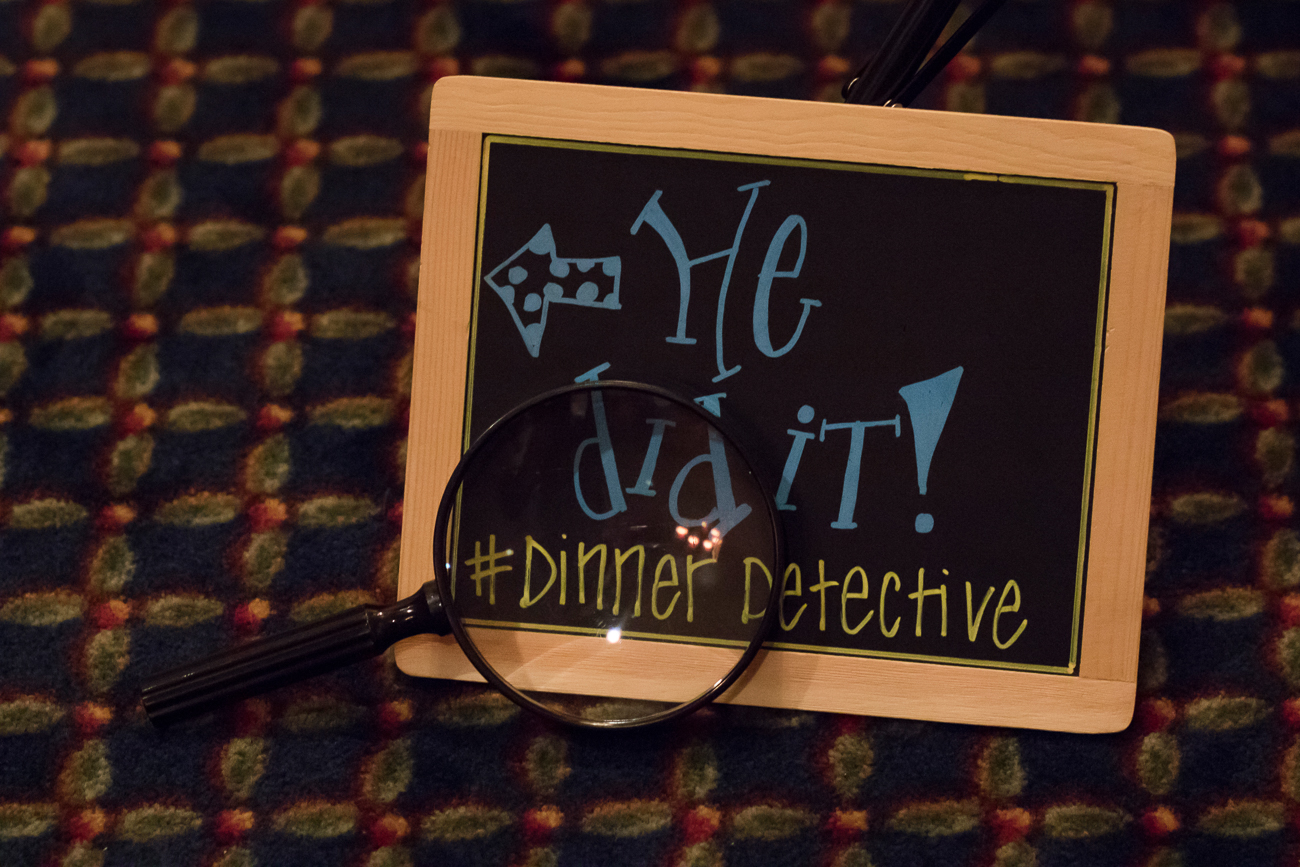 "The Dinner Detective Murder Mystery Dinner Show, billed as ""America's largest interactive murder mystery dinner show"" lets guests solve a murder case while having dinner. Performers dress normally and sit with theater-goers, leaving everyone suspicious about who's acting and who isn't. It's only when actors die throughout the mystery that it becomes apparent who's actually part of the story. Guests talk and try to cross-examine each other to figure out clues to further the investigation. By the end of the dinner, awards are given to the ""Top Sleuth"" guests. Dinners are held several nights a month at different locations both in Cincinnati and in many other cities and states. Visit TheDinnerDetective.com for more information. / Image: Allison McAdams // Published: 3.31.18"