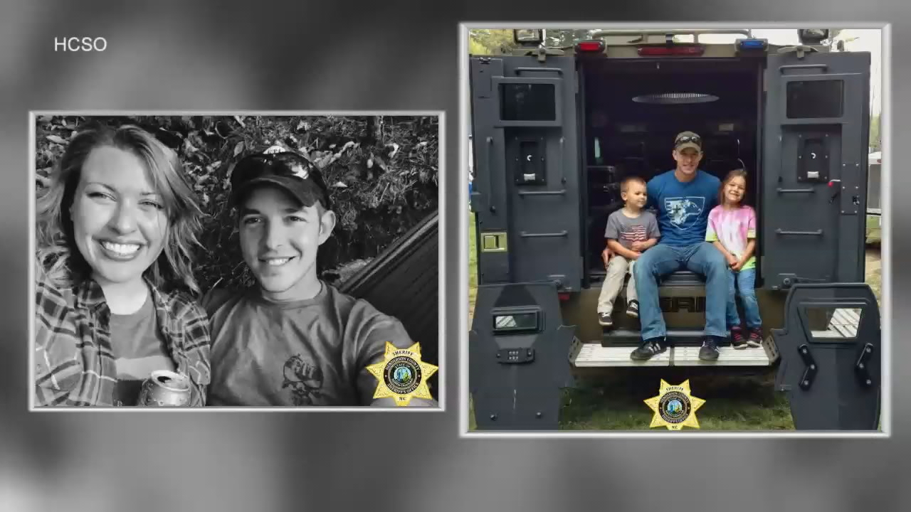 On Friday, Henderson County Deputy Ryan Hendrix was remembered as a hero and so much more. (Photo credit: Henderson County Sheriff's Office)