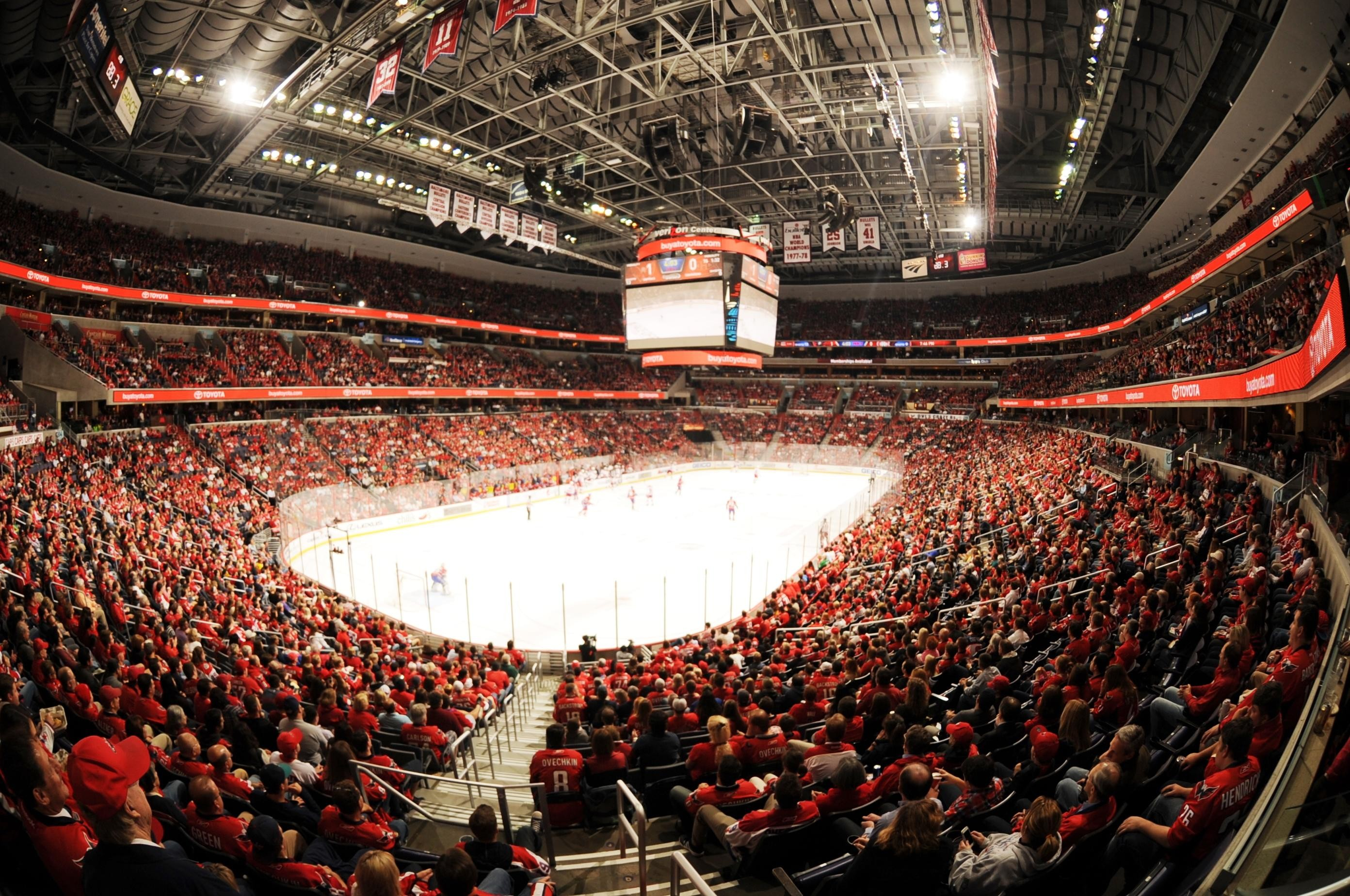 Washington Capitals (Photo courtesy: Verizon Center)<p></p>