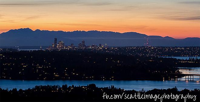 Bellevue at sunrise (Photo: Jonathan Cooper, Seattleimage.com)