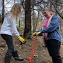 Cobb School students replant trees burned in last fall's Horse Prairie Fire