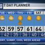 The Weather Authority | Dry With Cool Days and Chilly Nights